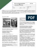 1º Colegial -Objetiva - Renascimento Cultural e Reforma Protestante