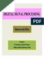 DSP Butterworth Filter