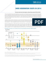 Renewable Power Generation Costs in 2014
