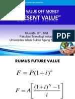 6. Present Value Dan Analisa Kelayakan Bisnis