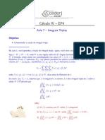 Cálculo 3-A (Integrais Triplas).pdf
