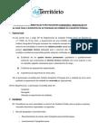 Requisitos Licenciamento da Atividade no Domínio do Cadastro Predial