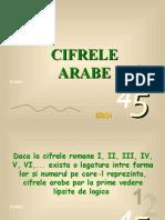 2. Cifrele Arabe