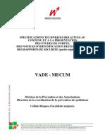 VADE-MECUM 2005 Region Wallonne