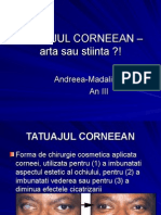 Tatuaj Corneean Andreea CRAIU