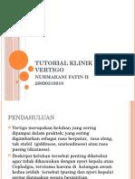 Tutorial Klinik Vertigo