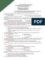 CA 2 Nres Exam & Answers 2014