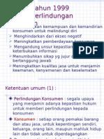 15. UU NO 8 TH 1999 Perlindungan Konsumen