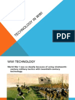 technology in wwi