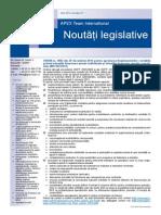 APEX Team Noutati Legislative 12 2014