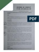Acuerdo Municipal N° 6