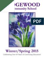 Winter/Spring 2015 Brochure