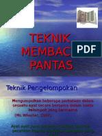 Teknik Membaca Pantas