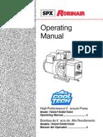 Manual Vacuum Coolair