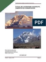 Estudio Del Ecosistema Ausangate, Lineamientos de Conservacion
