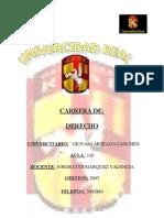Caratula Universidad Real
