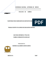 Auditorias para fabricantes de dispositivos medicos
