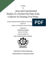 Final Report solar fpc