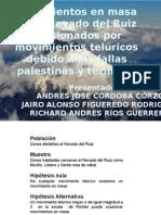 Movimientos en Masa en El Nevado Del Ruiz