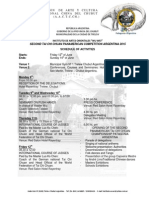Programa en Ingles_2015 - Panamericano Tai Chi Chuan Puerto Madryn 2015