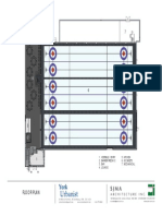 York Curling Club Floor Plan