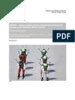 Sports Olympiques Ski Ski de Fond Eng
