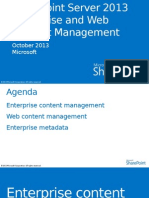 Enterprise and Web Content Management With SharePoint