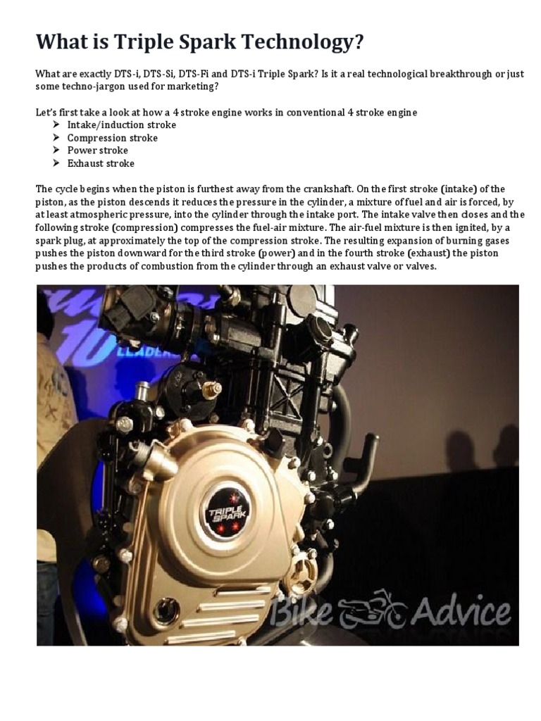 Triple Spark Technology Internal Combustion Engine 291 Views