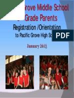 2014 PGMS Parent Night