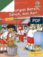 Kelas 01 SD Tematik 6 Lingkungan Bersih Sehat Dan Asri Siswa