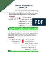 Modelos Algebraicos
