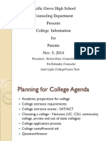 2014_15 College Night Powerpoint
