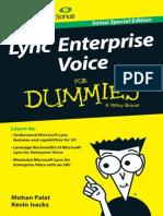 Lync for Dummies