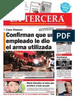Diario La Tercera 20.01.2015