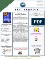 Luuf Newsletter Jan 2015