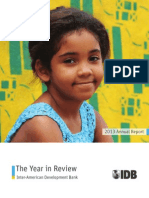 IDB Annual Report 2013. the Year in Review