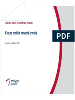 Mobile Broadband Traffic Growth Perspectives
