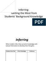 inference materials
