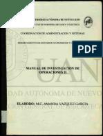 manual de I.O. II