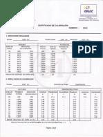 interpretacion de certificado de calibracion maquina de tension
