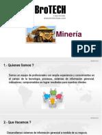 Sistemas BroTECH Minería