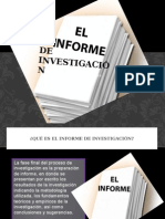 informe de investigacion