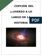 Concepción Del Universo a Lo Largo de La Historia