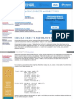 Www Oracle DBA Online Com SQL Oracle Objects and Types Htm