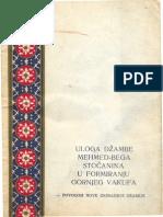Uloga Džamije Mehmed-bega Stočanina u Formiranju Gornjeg Vakufa