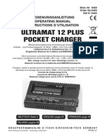 Ultramat 12 PLUS POCKET de en Fr It