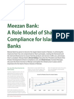 Meezan Bank - As a Role Model for Shariah Compliance