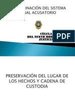 Presentacion Preservacion Del Lugar de Los Hechos y Cadena de Custodia-2