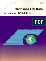High Performace ECL Data
