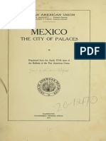 Mexico City of Palaces 1918